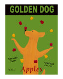 Golden Dog Collectable Print by Ken Bailey