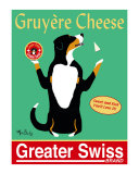 Greater Swiss Collectable Print by Ken Bailey