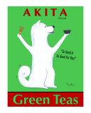 Akita Green Tea Limitierte Auflage von Ken Bailey