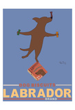 Labrador Brand - Chocolate Lab Limited Edition by Ken Bailey