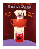 Great Dane Brand Collectable Print by Ken Bailey