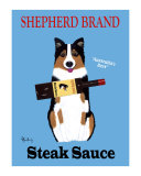 Shepherd Steak Sauce Collectable Print by Ken Bailey