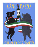 Cane Pazzo Collectable Print by Ken Bailey