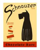 Schnauzer-choklad|Schnauzer Bars Samlarprint av Ken Bailey