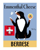 Bernese Ementhal Cheese Collectable Print by Ken Bailey