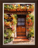 Flower Cottage Poster by Dennis Barloga