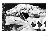 Paradise Inn, Rainier National Park - Rainier National Park Posters
