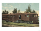 Union Pacific Railroad - McKeen Motor Car View Poster by  Lantern Press
