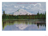 Mt. Rainier View - Rainier National Park Posters by  Lantern Press