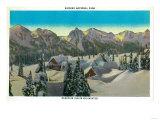 Paradise Inn, Mid-winter, Rainier National Park - Rainier National Park Poster