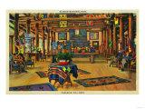 Paradise Inn Lobby, Rainier National Park - Rainier National Park Posters