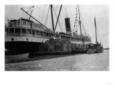 S.S. Alameda at Anchorage, Alaska Photograph Posters by  Lantern Press