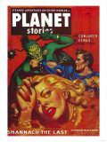 Planet Stories Magazine Cover Posters by  Lantern Press