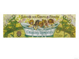 Savon Des Gentils Bebes Soap Label - Reims, France Posters