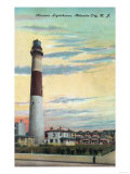 View of Absecon Lighthouse - Atlantic City, NJ Posters by  Lantern Press