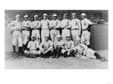 Philadelphia American League Baseball Team Photograph - Philadelphia, PA Print by  Lantern Press