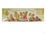 Savon Des Jolis Bebes Soap Label - Paris, France Print by  Lantern Press