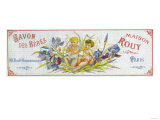 Savon Des Bebes Soap Label - Paris, France Posters