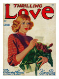 Thrilling Love Magazine Cover Posters