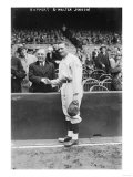 Ruppert and Walter Johnson Pitcher Baseball Photograph - Washington, DC Posters