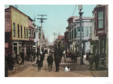 View of Front Street - Nome, AK Posters