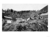View of a Native Village - Chitina, AK Print