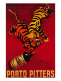 Porto Pitters Vintage Poster - Europe Print