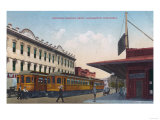 Northern Electric Rail Depot - Sacramento, CA Posters