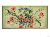 Reveil De Printemps Soap Label - Paris, France Posters