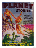 Planet Stories Magazine Cover Posters