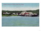 Thlinket Packing Co. Salmon Cannery - Funter Bay, AK Print