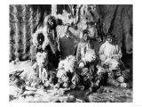 "The ""Wolf dance"" of the Kaviagamutes, Alaska Eskimos Photograph - Alaska Print"