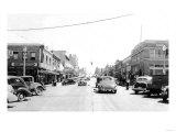 Street Scene, View of the Fry Drug Company - Port Angeles, WA Poster by  Lantern Press