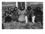 Reindeer Mary and Her Family in Alaska Photograph - Alaska Poster