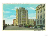 Northern View of Bannock St, Exterior View of Hotel Boise - Boise, ID Posters