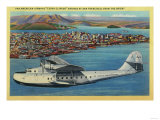 "Pan American Airways ""China Clipper"" from Orient - San Francisco, CA Posters by  Lantern Press"