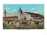 Mission Santa Clara de Asis - Santa Clara, CA Posters