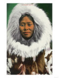 View of an Eskimo Beauty - Alaska Posters
