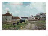 Portion of Treadwell Mines - Douglass Island, AK Posters