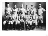 Northwest Kansas Baseball Team Posing for Photo - Kansas Print