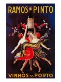 Ramos Pinto Vintage Poster - Europe Prints by  Lantern Press