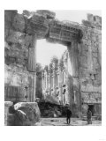 Ruins of a Temple in Baalbek Lebanon Photograph - Baalbek, Lebanon Posters by  Lantern Press