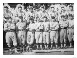 NY Giants Team, Baseball Photo No.1 - New York, NY Print by  Lantern Press