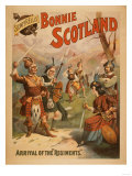Sidney R. Ellis&#39; Bonnie Scotland Scottish Play Poster No.3 Prints