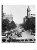Pennsylvania Avenue from Treasury Building Photograph - Washington, DC Poster