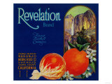 Revelation Orange Label - Naranjo, CA Poster