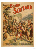 Sidney R. Ellis' Bonnie Scotland Scottish Play Poster No.4 Art by  Lantern Press