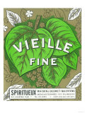 Vieille Fine Wine Label - Europe Posters by  Lantern Press