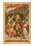 Sidney R. Ellis' Bonnie Scotland Scottish Play Poster No.1 Print