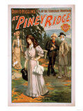 "Piney Ridge ""Idyl of the Tennessee Mountains"" Poster Print"